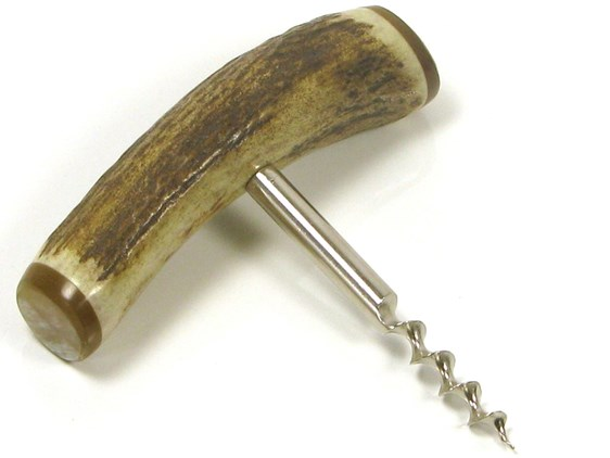 Cork Screw - Stag Antler