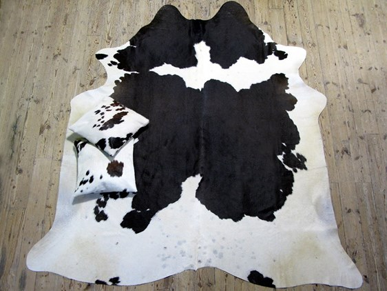 Cow Hide - Black & White
