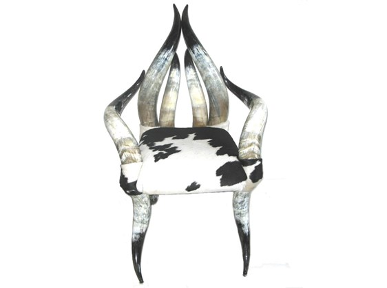 Cow Horn Chair