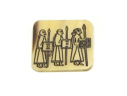 Fridge Magnet - Pictish Warrior