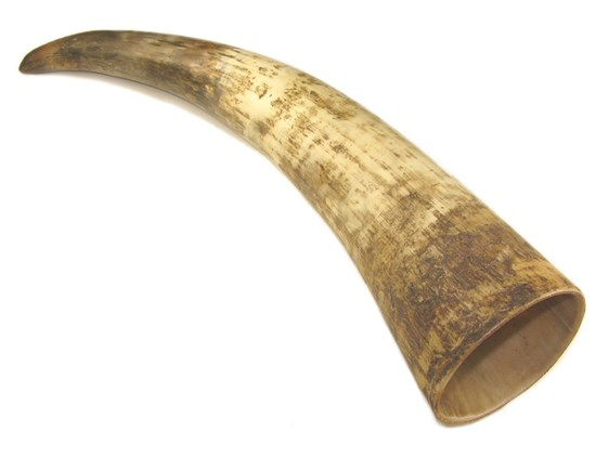 "Rough Finished Viking Horn | Horn is 9-10"" in length aprox"