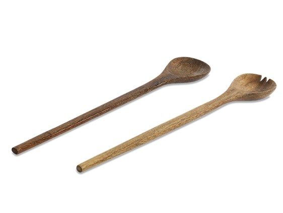 Large Mango Wood Salad Servers