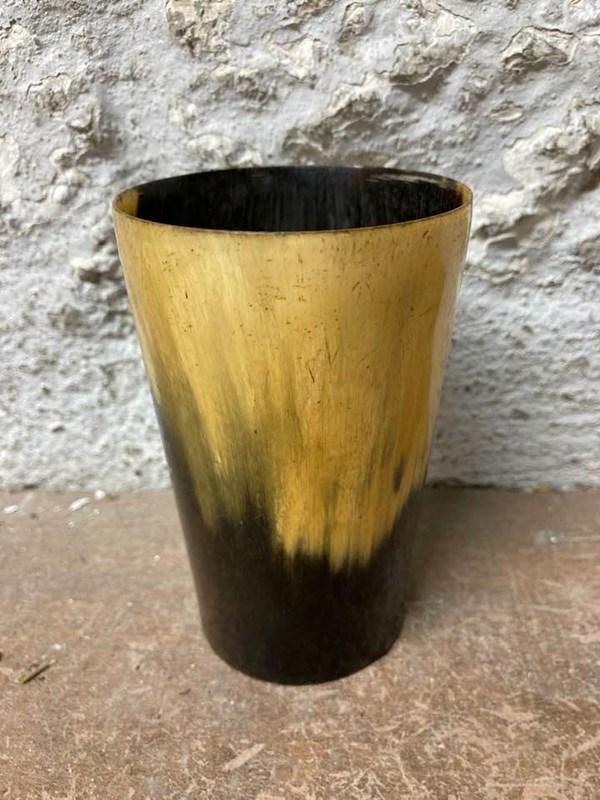 Antique Horn Beaker
