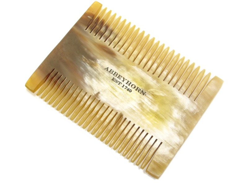 Cow Horn Double Sided Nit Comb