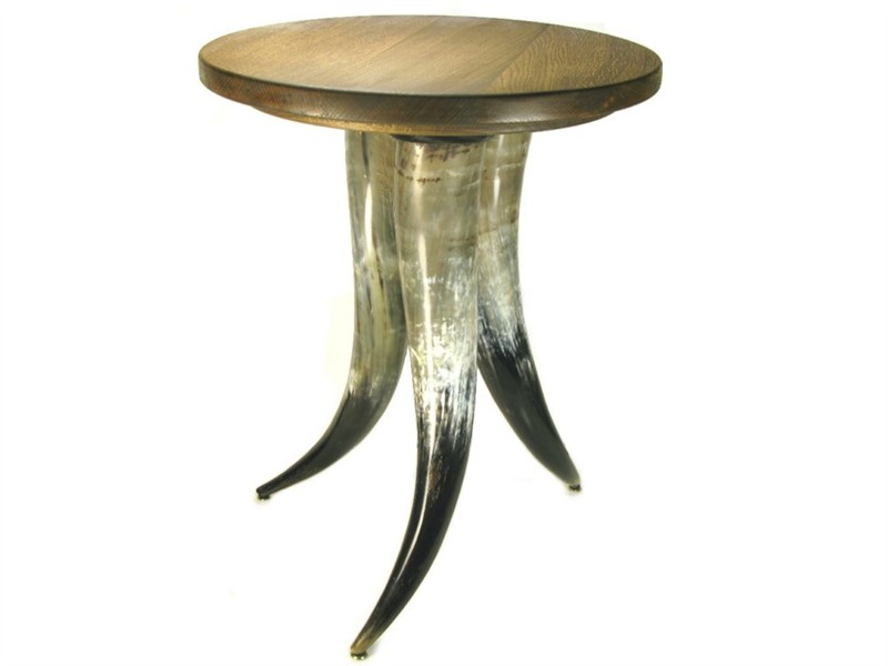 Cow Horn Table