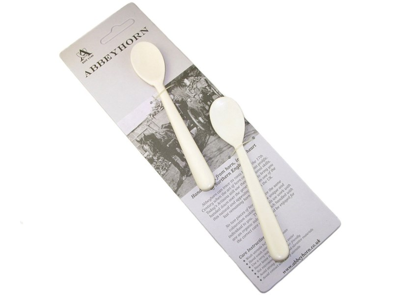 Pair of Bone Egg Spoon