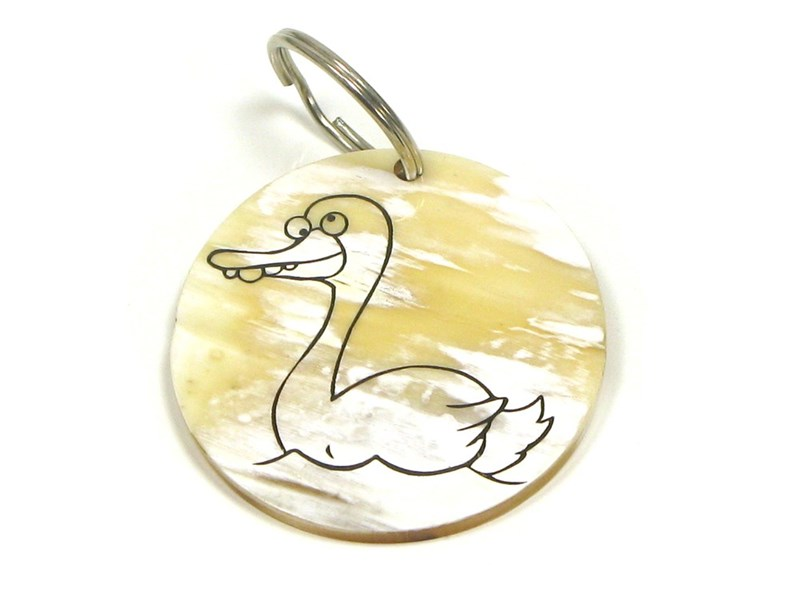 Keyring - Oxhorn - Duck