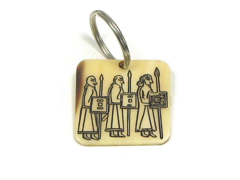 Keyring - Oxhorn - Pictish Warrior