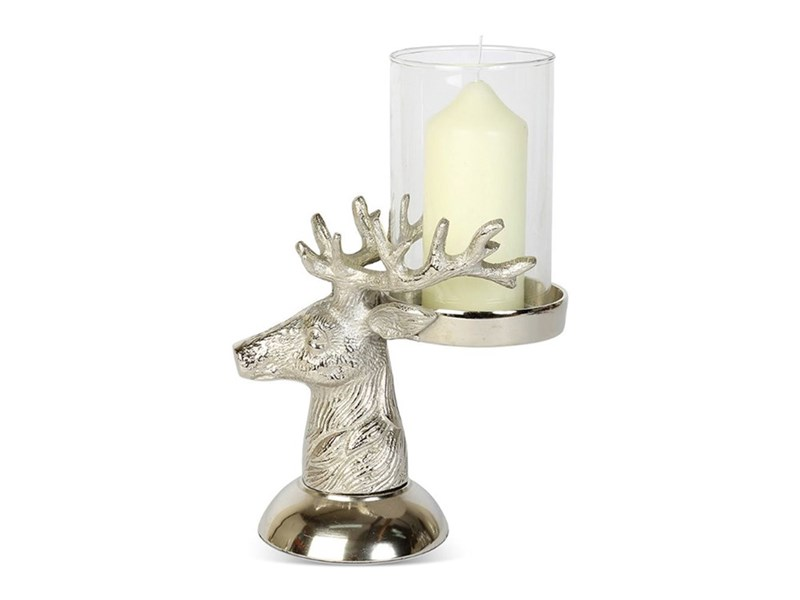Stags Head Candle Holder