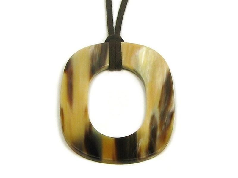Pendant - Oval - Oval Hole - Small