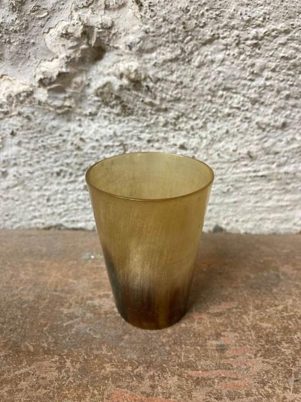 Antique Horn Tot