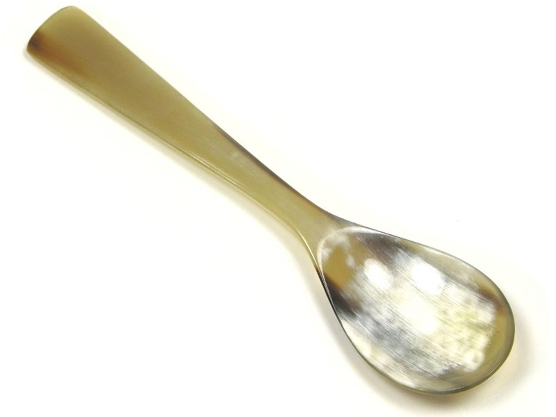 Cow Horn Square End Childs Spoon