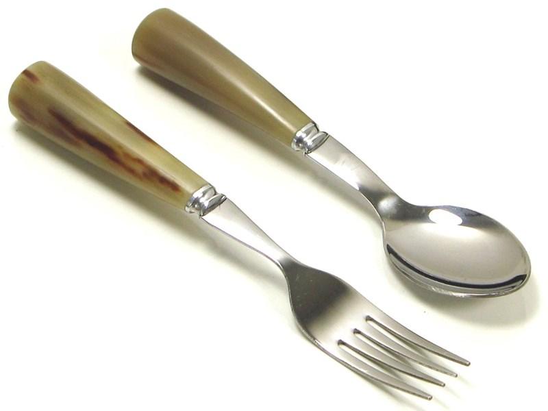 Children's First Horn Cutlery Set