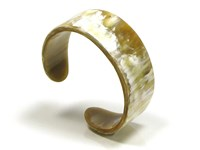 Cow Horn Wide Cut Ladies Bangle