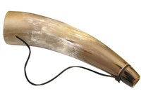 Polished Cow Horn Baby Bugle Horn