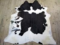 XL Cow Hide - Black & White