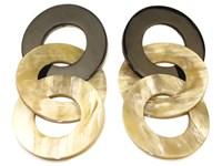 Earring - Oval Links