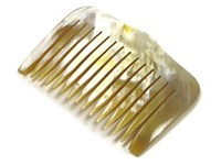 Ox Horn Wide Tooth Hair Comb