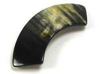Arched Horn Hair Slide
