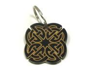 Keyring - Oxhorn - Celtic Design