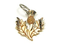 Keyring - Oxhorn - Thistle