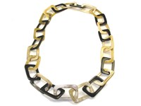 Necklace - Oxhorn Rectangle Links