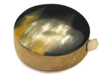 Polished Horn Tape Measure