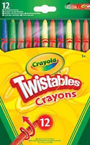 12 Crayola Twistables Crayons