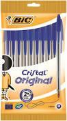 Bic Cristal Original Blue 10 Pack