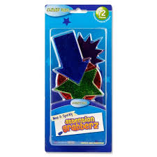 72 Card Attention Grabber Shapes