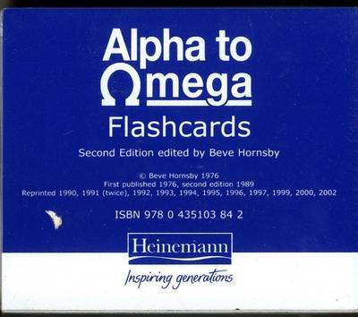 Alpha To Omega Flashcards: A To Z Of Tea