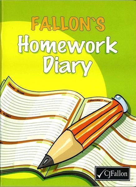 Fallons Homework Diary