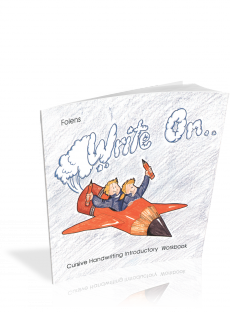 Write On Cursive Intro Workbook Book 1