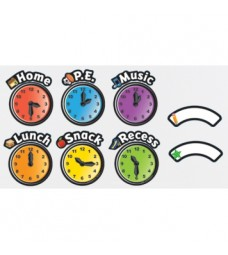 Magnetic Daily Clock Schedule Clocks