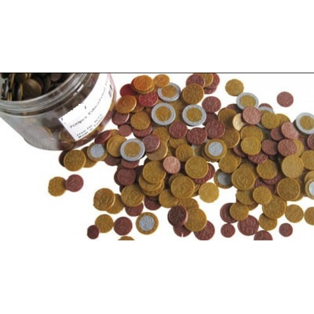 Cleverco Euro Coins Class Set Of 700 Pcs
