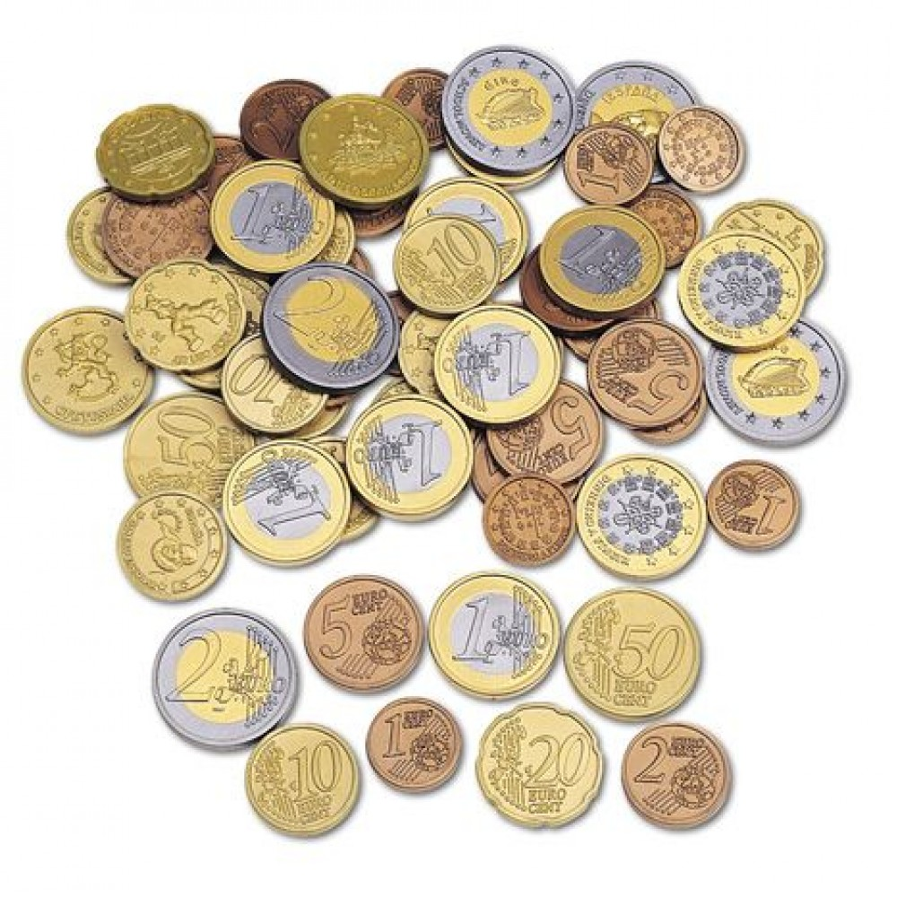 Cleverco Euro Coin Set Of 120