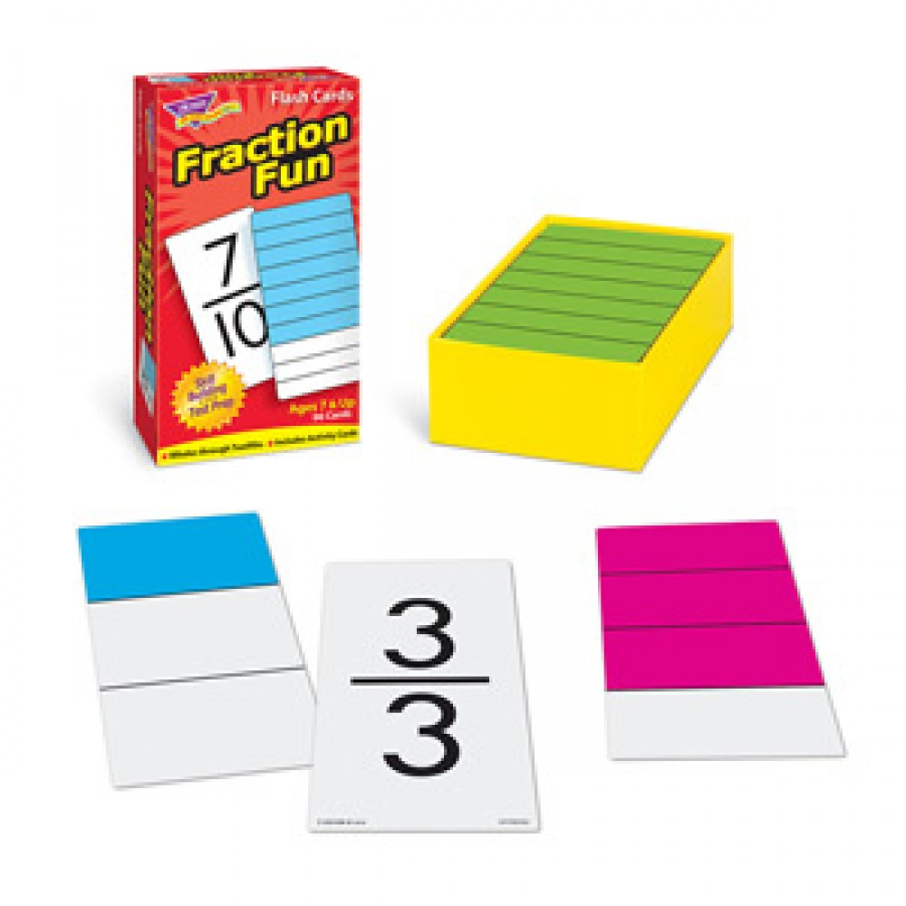 Fraction Fun Flash Cards