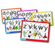 Alphabet Threading Set