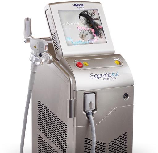 Alma Lasers | Soprano ICE | Laser hair removal