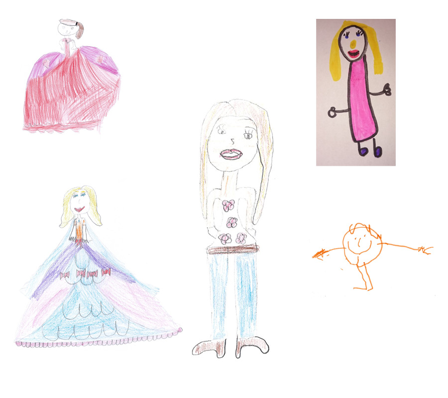 Drawings of our support staff