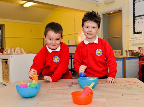 image of Aberbargoed Primary School Children