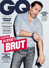 GQ magazine Gilles Lellouche Avril 2016