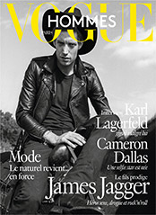 Vogue Hommes Mars 2016 James Jagger