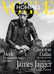 Vogue Hommes Mars 2016 James Jagger
