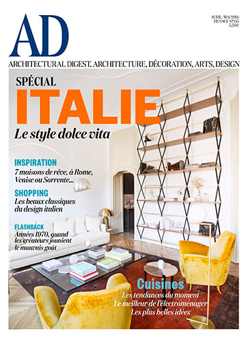 Architectural Digest Avril Mai 2016 Spécial Italie