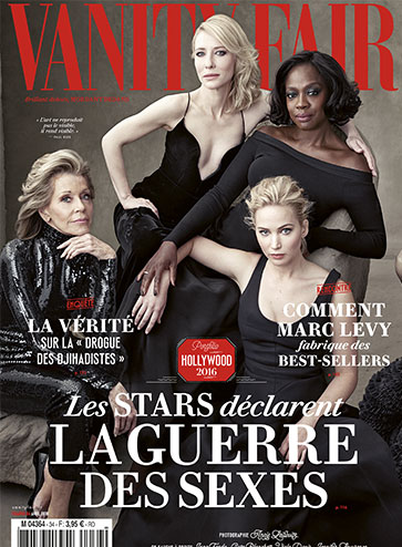 Vanity Fair Numéro 34 Avril 2014 Hollywood la guerre des sexes
