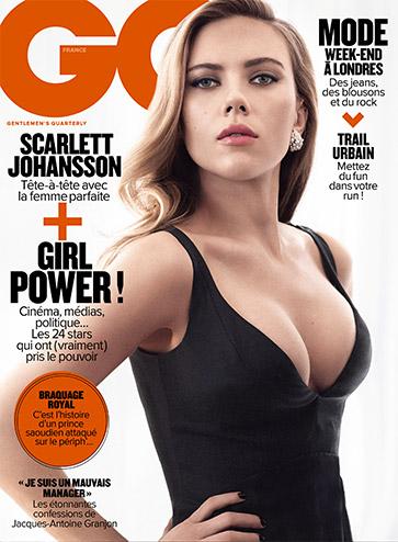 GQ Magazine Scarlett Johansson