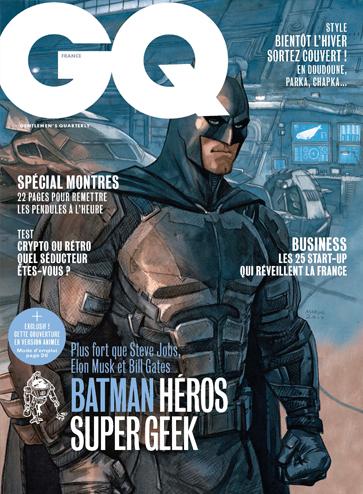 Batman héros super Geek