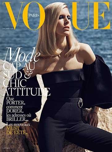 Vogue Juin Juillet 2016 mode Chic attitude