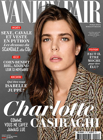 Charlotte Casiraghi vanity fair